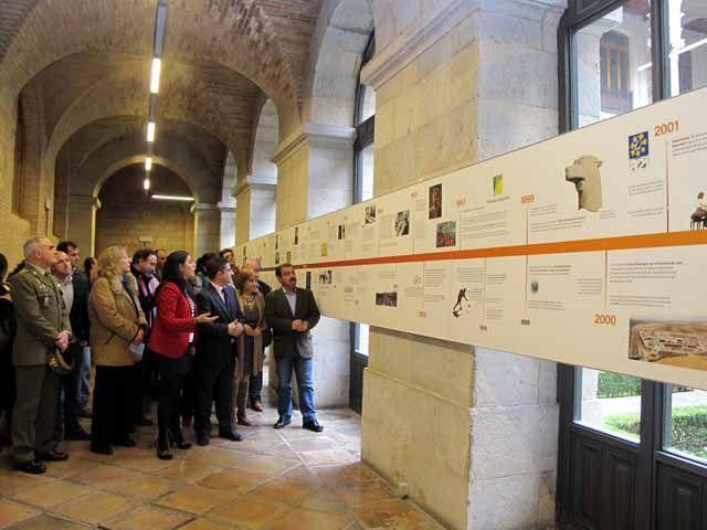 La Diputación se abre a la ciudadanía con una exposición en la que refleja su historia, qué hace y el edificio que la alberga