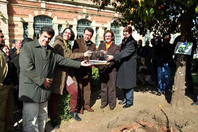 Colocan la primera piedra de las obras de mejora de la accesibilidad en la antigua Estación de Madrid