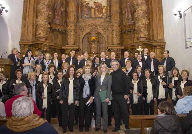 La Coral Andrés Segovia interpreta dos conciertos benéficos