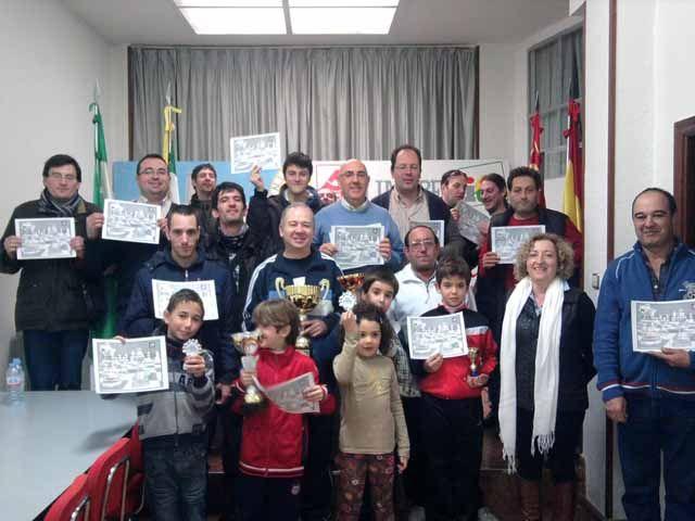 Disputado el III Torneo de Ajedrez IU-PCA