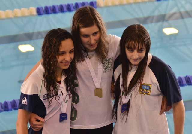 Sandra Romo consigue dos bronces en el andaluz de natación