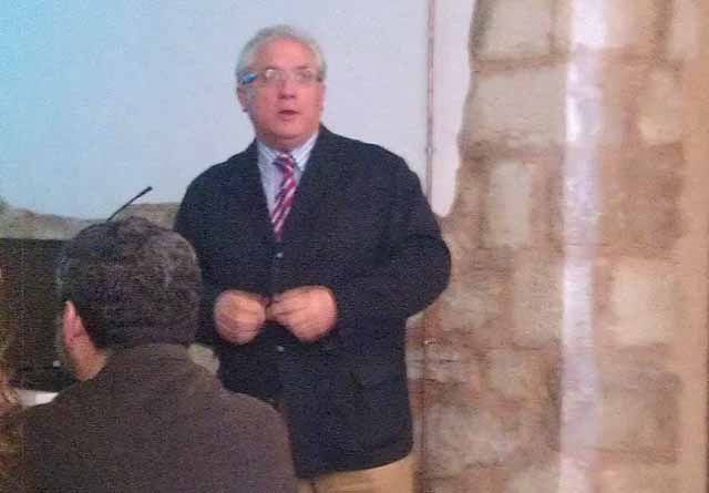 José Dueñas imparte en Jaén una conferencia sobre el patrimonio Industrial-Minero