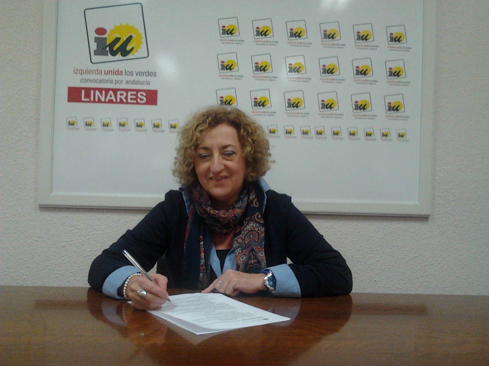 IU inicia en Linares la campaña #ARajoyLeDiría