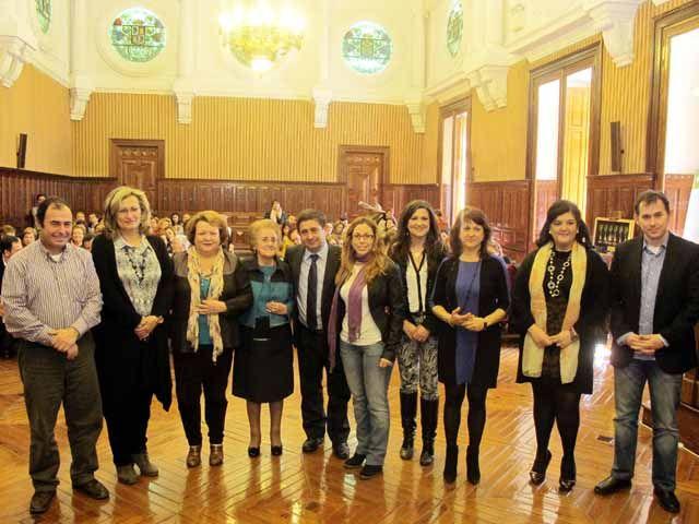El acto central organizado por la Diputación para el Día de la Mujer se convierte en una reivindicación de la igualdad real