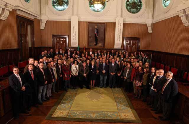 Diputación rinde homenaje a los 97 municipios con motivo del Día de la Provincia de Jaén