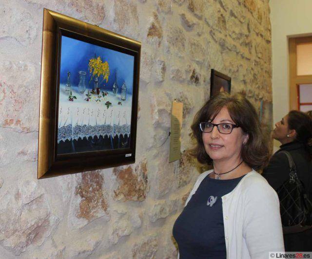 Mari Paz Vicaría Castillo el día e la inauguración