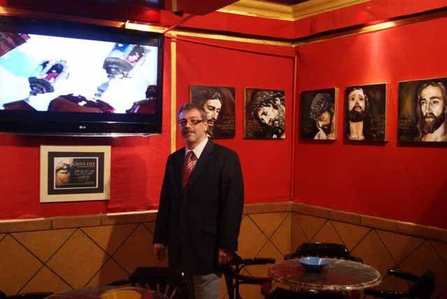 Exposición de pinturas cofrades de José Ángel Palacios