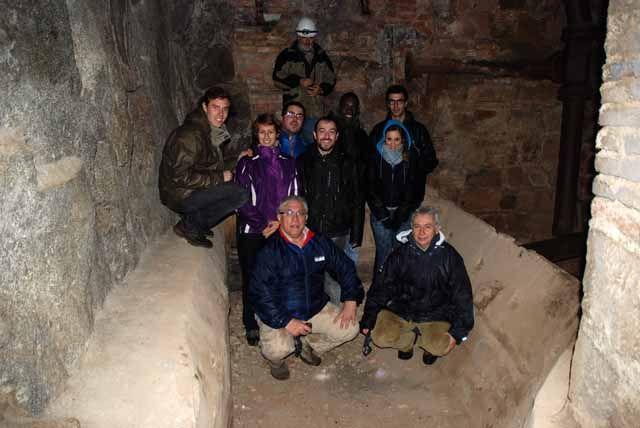 Estudiantes madrileños visitan el patrimonio minero de Linares