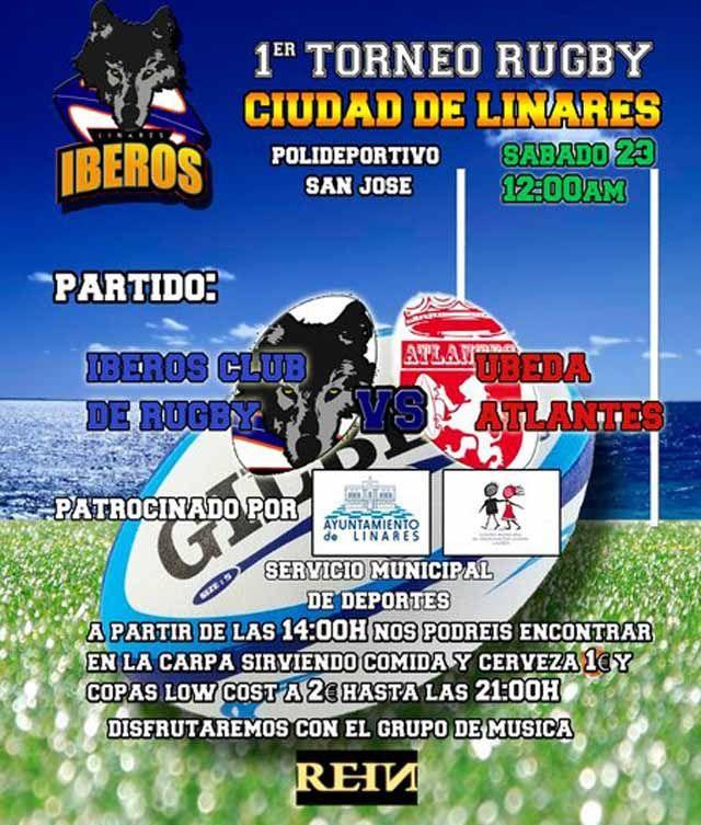 """Mañana se celebra el """"I Torneo de Rugby Ciudad de Linares"""""""