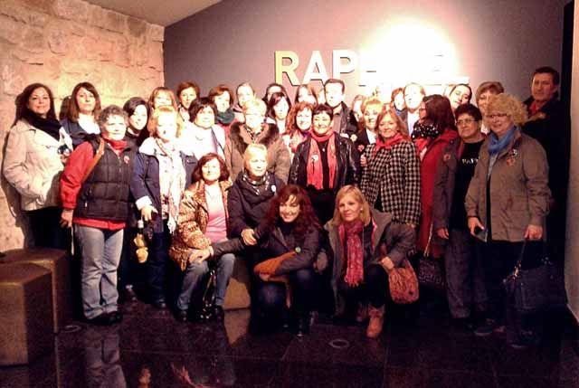 """Los """"Raphaelistas"""" toman su museo"""