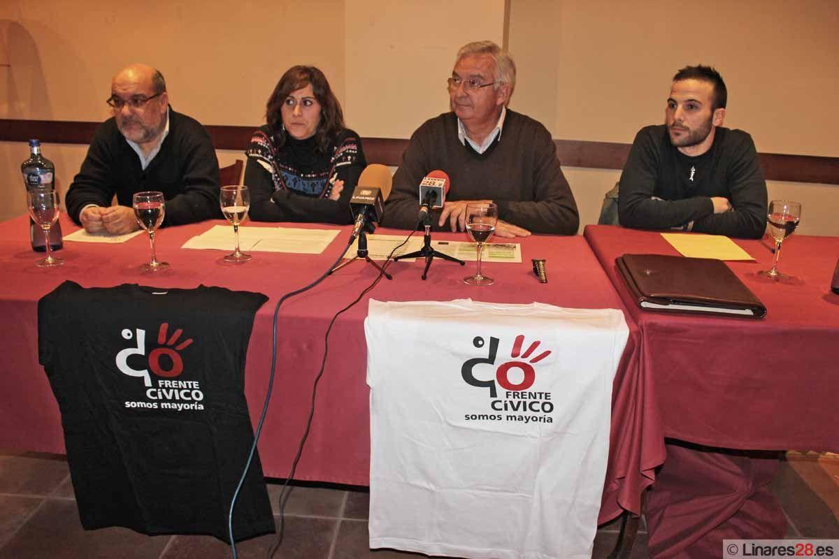 El Frente Cívico de Linares prepara toda una serie de actividades