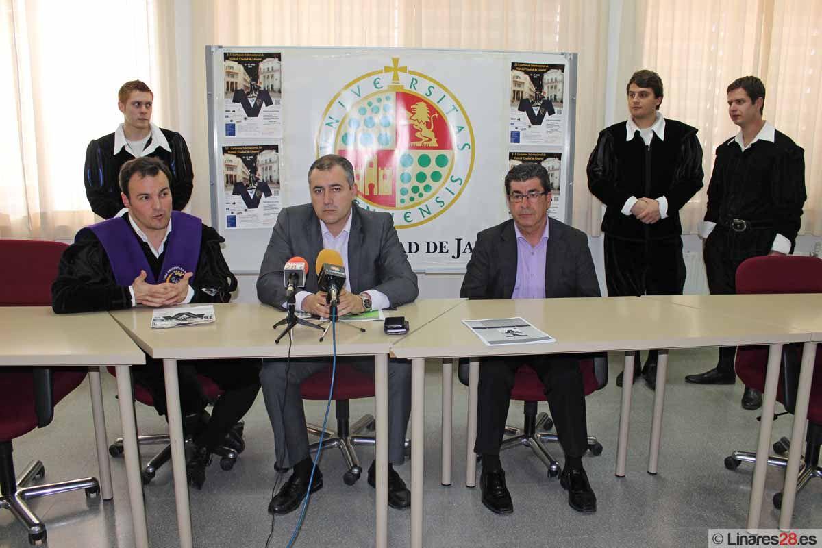"""Linares celebrará el próximo fin de semana el III Certamen Internacional de Tunas """"Ciudad de Linares"""""""