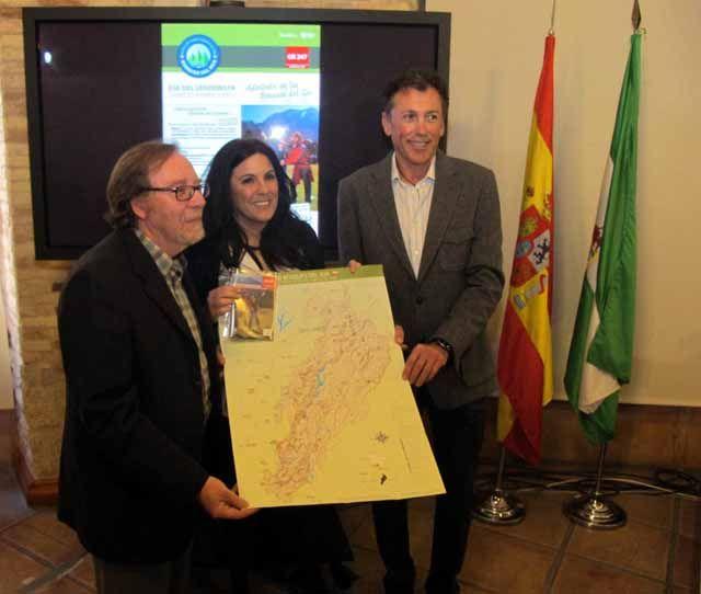 """La Diputación organizará el 4 de mayo actividades ciclistas y senderistas para dar a conocer el GR 247 """"Bosques del Sur"""""""