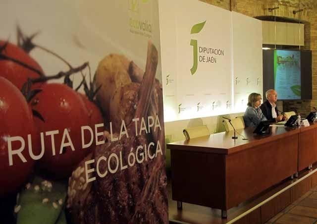 Una Ruta de la Tapa Ecológica provincial promocionará el consumo de estos productos también en Linares