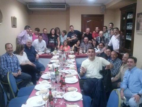 Encuentro de antiguos alumnos del C.P. Santa Ana