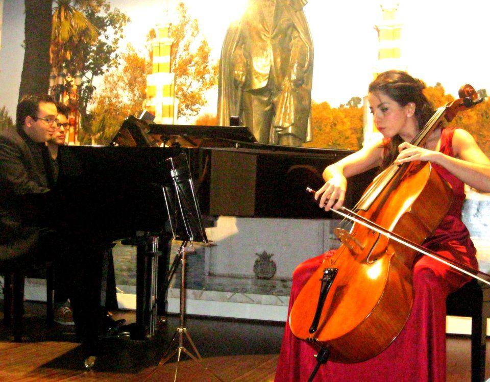 Piano y violonchello deleitan en la Fundación Andrés Segovia