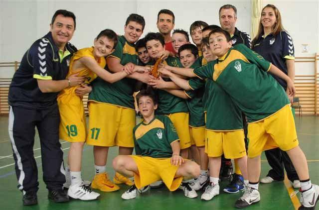 Fase final de minibasket masculino de 2ª división