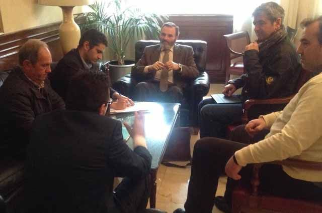 Reunión del subdelegado del Gobierno con responsables de las Entidades Locales Autónomas