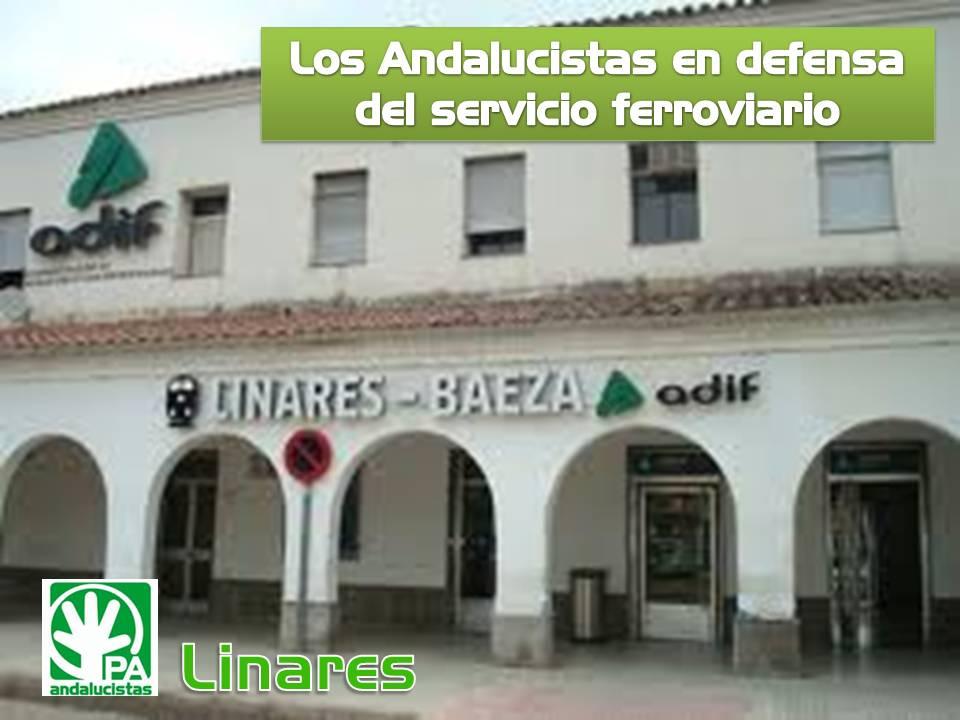 EL PA EN DEFENSA DEL SECTOR FERROVIARIO DE ANDALUCIA