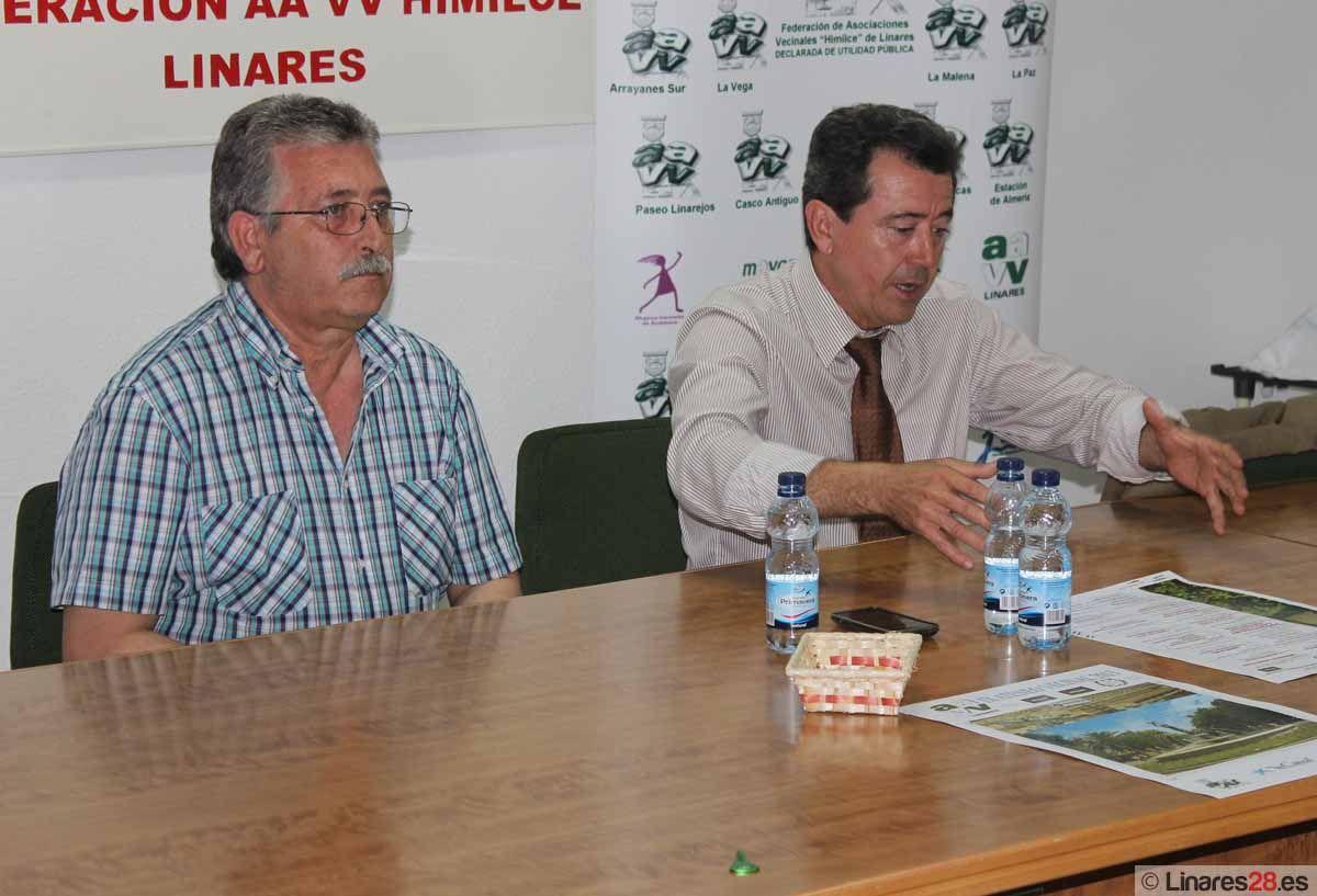 Juan Fernández inaugura el Ateneo Vecinal 2013