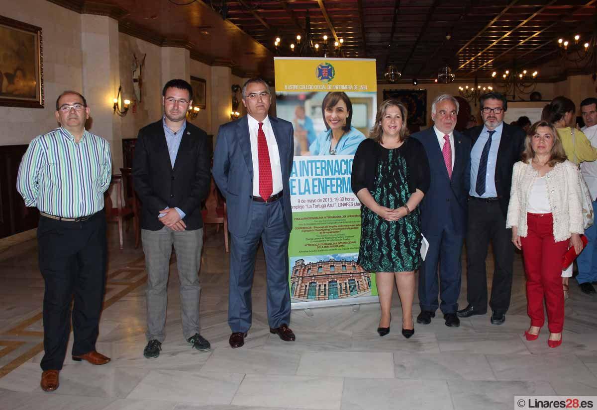 La situación de crisis y las oportunidades de empleo en el extranjero centran la celebración del Día Internacional de la Enfermería en Linares