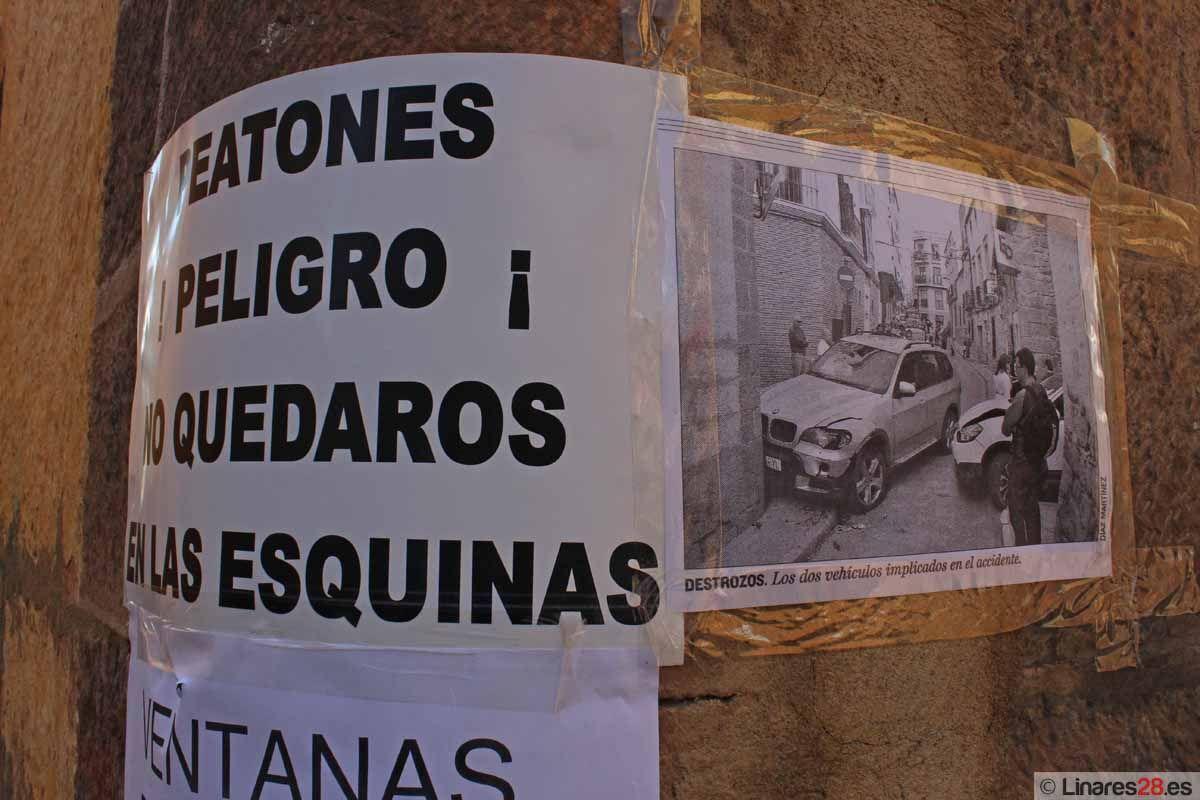 FACUA Jaén apoya las reivindicaciones de los vecinos que viven en la calle Ventanas
