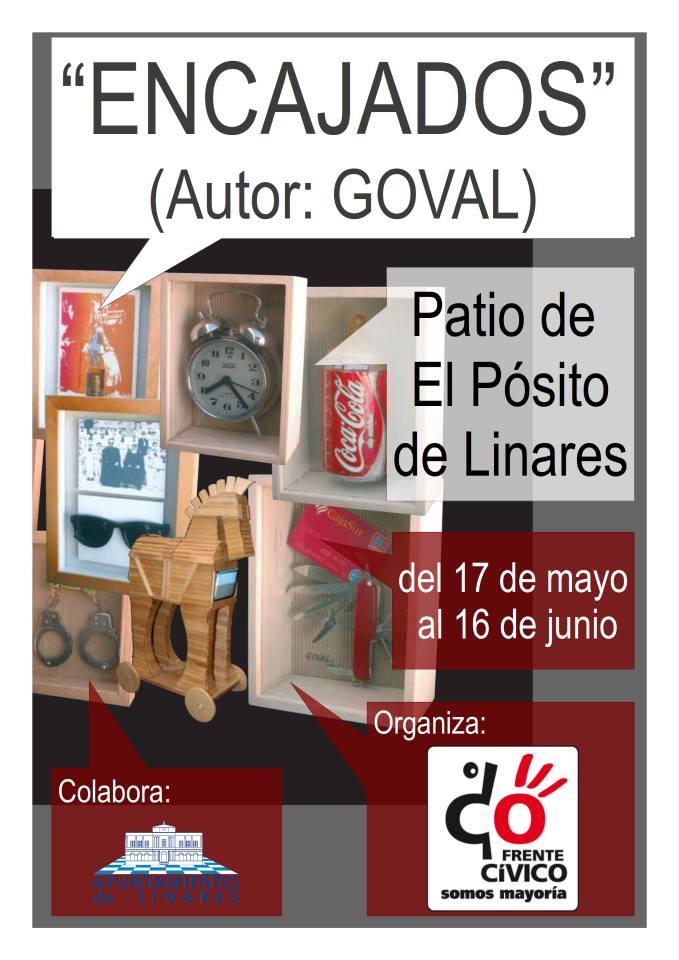 """El viernes se inaugura la exposición """"Encajados"""" de Goval"""