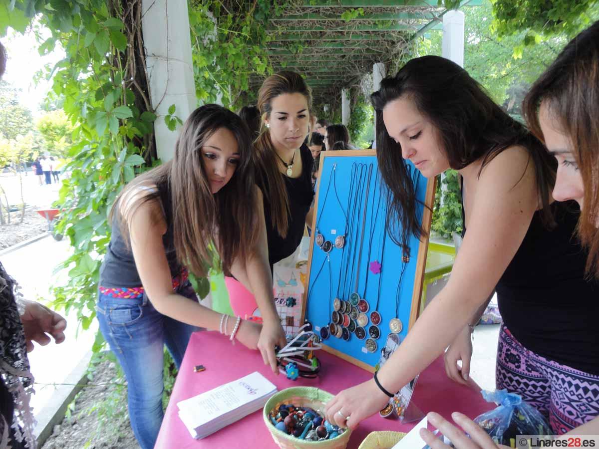Centros linarenses acuden a la Feria de Emprendimiento de Jaén