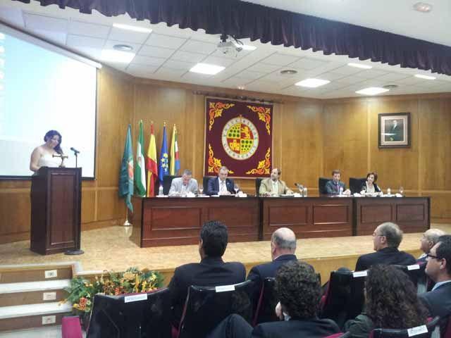 Acto de graduación en la EPS de Linares