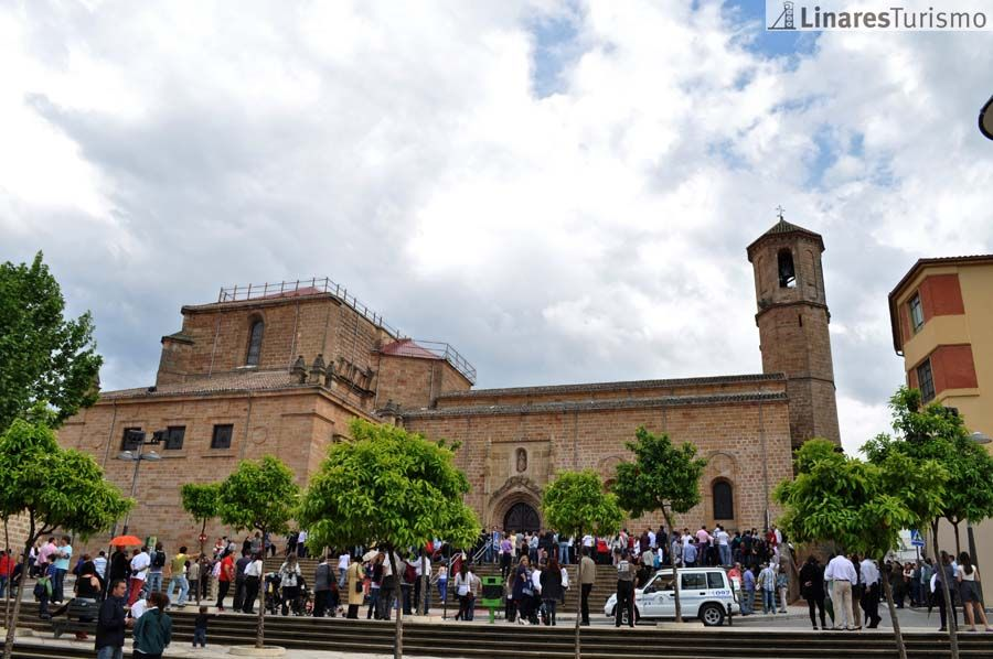 Isac, satisfecha por la aprobación de una PNL para acometer la restauración de la Iglesia de Santa María la Mayor de Linares