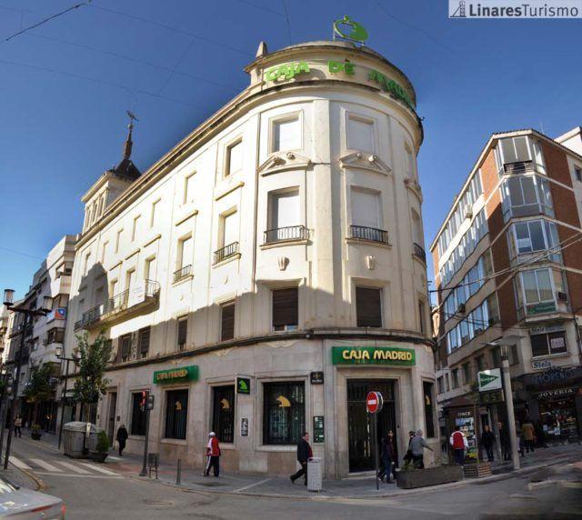 Antigua Caja Madrid en Linares