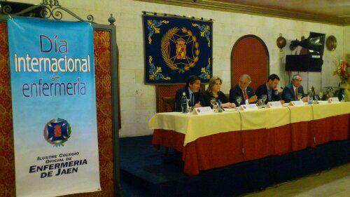 Comienza la celebración del Día Internacional de la Enfermería  en Linares