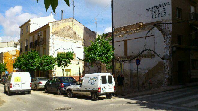 Cambio de paisaje urbano en la calle Viriato