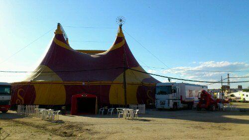 Último día del circo en Linares