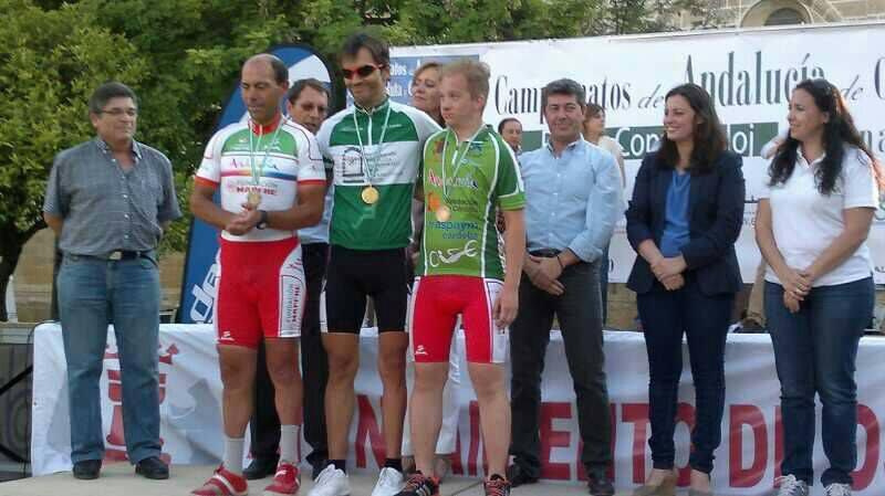 Bronce para el ciclista adaptado linarense Isidro Pérez en el Campeonato Andaluz de Ciclismo
