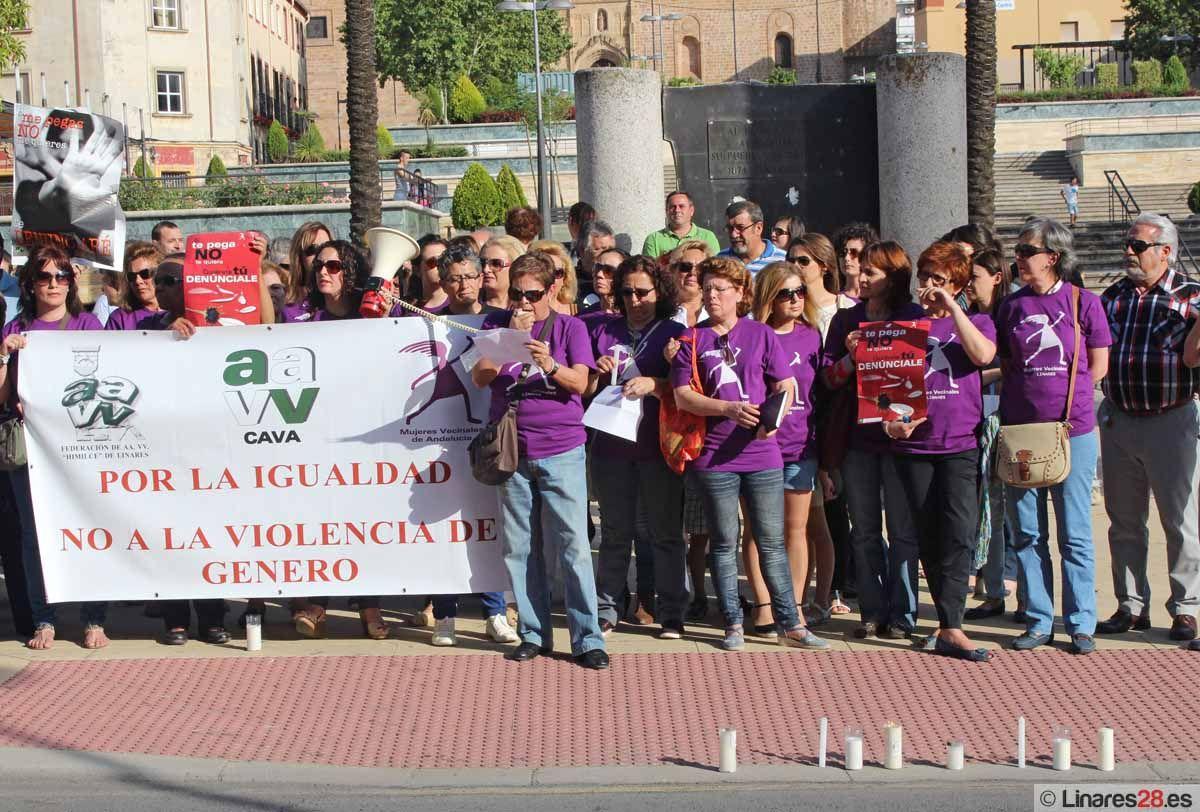 Linares dice ¡NO! a la violencia de género