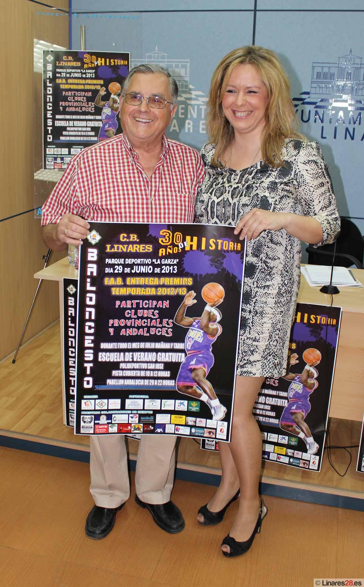 El CB Linares celebra sus treinta años de historia