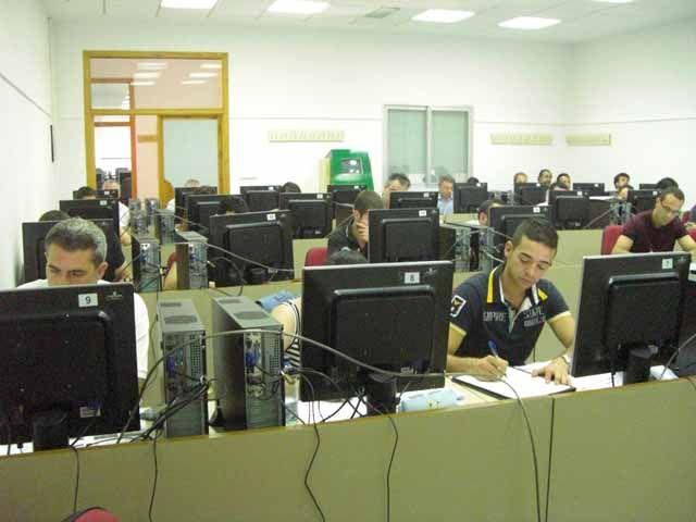 Alumnos durante el curso