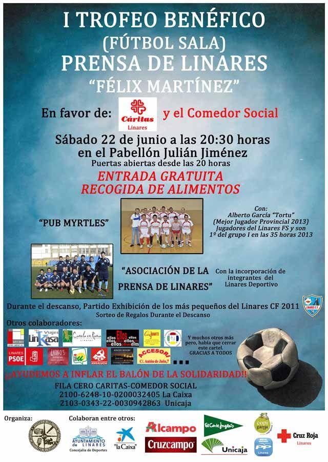 Partido solidario de Fútbol Sala a beneficio de Cáritas