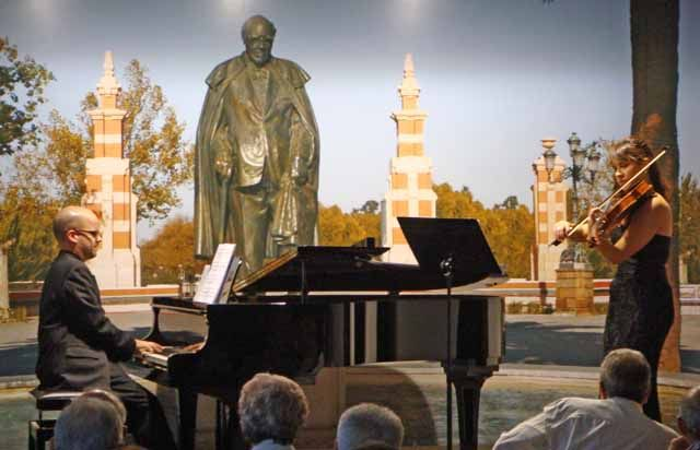 """Concierto del """"Dúo Maggini"""" en la Fundación Andrés Segovia"""