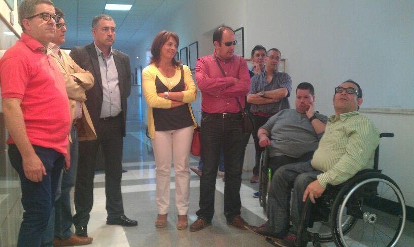 """Inaugurada en la EPSL la muestra """"Luz en la diversidad"""""""