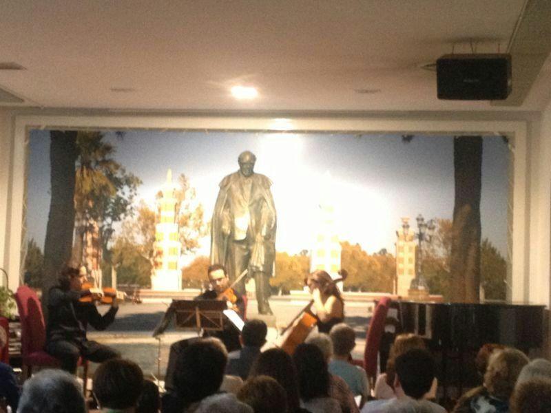 El trío Ars Nova actuó en la Casa Museo Andrés Segovia
