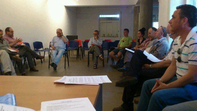 En estos momentos, asamblea del Frente Cívico de Linares