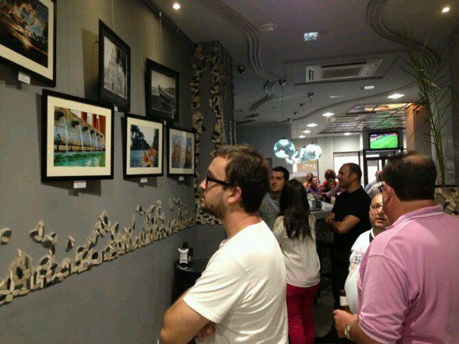 En estos momentos, inauguración de la muestra fotográfica de López y Calero