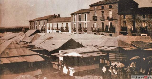 Plaza de abastos al principios del siglo XX