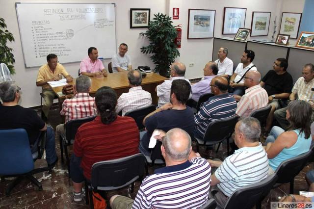 Momento de la reunión de coordinación