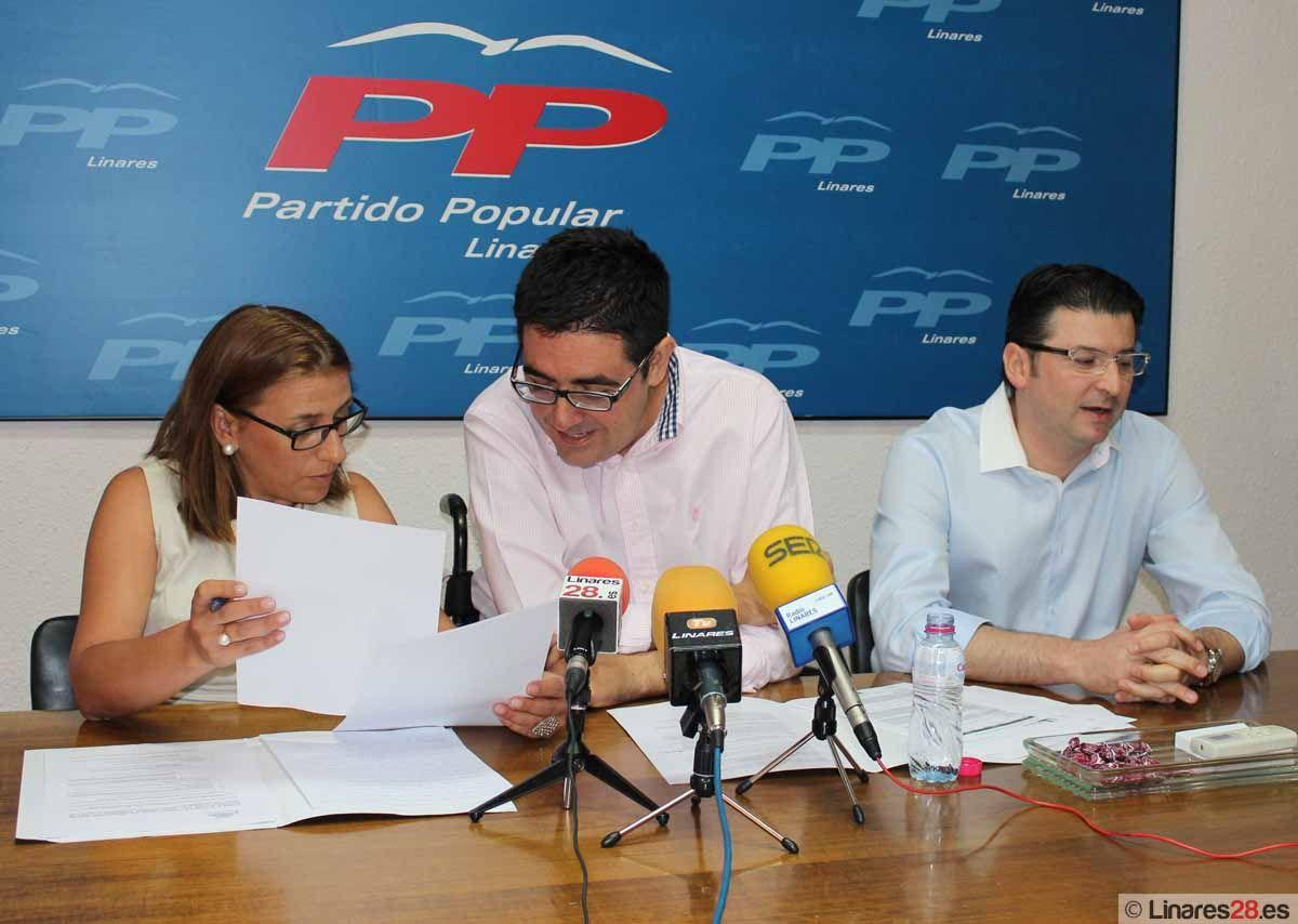 El último Pleno abre la brecha en el Partido Popular de Linares