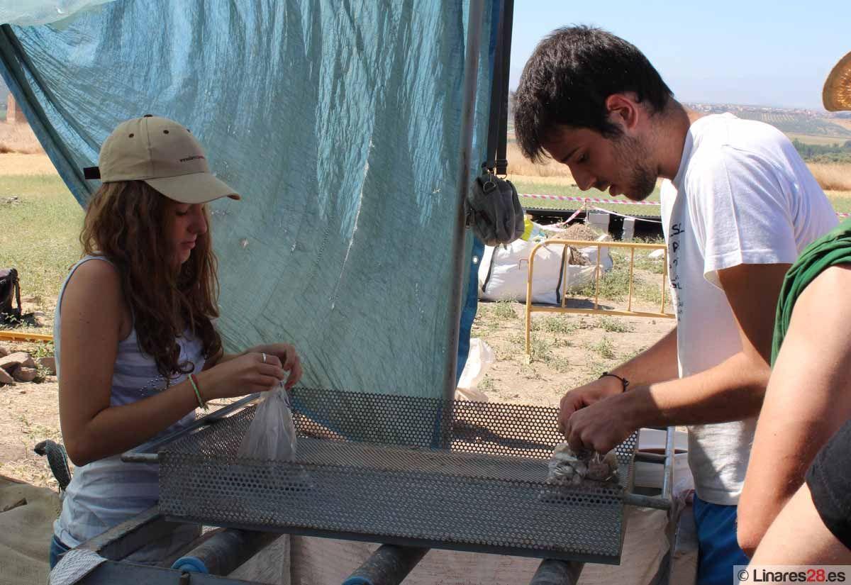 El yacimiento de Cástulo ofrece visitas guiadas a las excavaciones