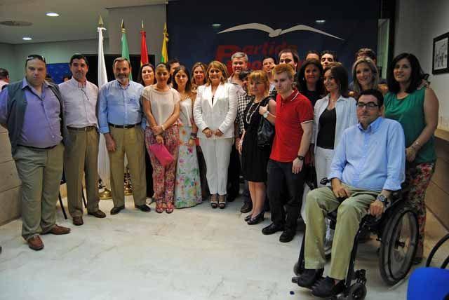 El Partido Popular de Linares inaugura su nueva sede en un emotivo acto presidido por Fernández de Moya