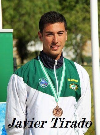 Tres oros para el linarense Peiró en el campeonato andaluz de natción